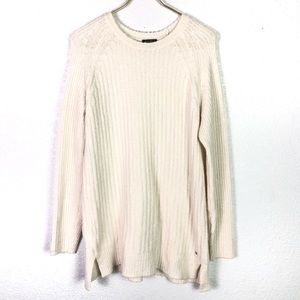 Eddie Bauer Tunic Cable Knit Sweater